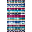 Estilo Multicolour Stripe Shower Curtain