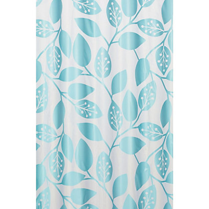 Image for Estilo Eden Shower Curtain - Blue from StoreName