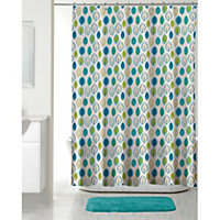 Chloe Shower Curtain - Multi - 180 x 180cm