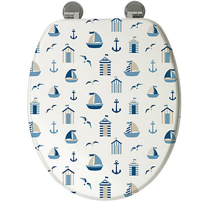 Image for Croydex Nautical Toilet Seat from StoreName