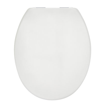 Image for Mondella Duroplast Soft Closing Toilet Seat - White from StoreName