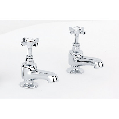 Image for Mondella Westminster Bath Taps - Chrome from StoreName
