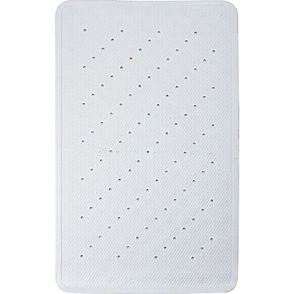 Image for Estilo Rubber Bath Mat - White from StoreName
