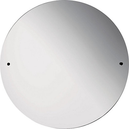 Image for Estilo Unframed Circle Drilled Mirror from StoreName