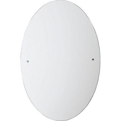 Image for Unframed Oval Drilled Mirror from StoreName