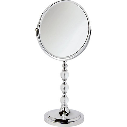Image for Freestanding Facet Ball Mirror from StoreName
