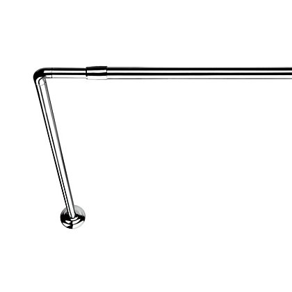 Image for L Shaped Telescopic Rod - Chrome from StoreName