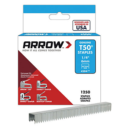 Image for Arrow T50 6mm Staples from StoreName