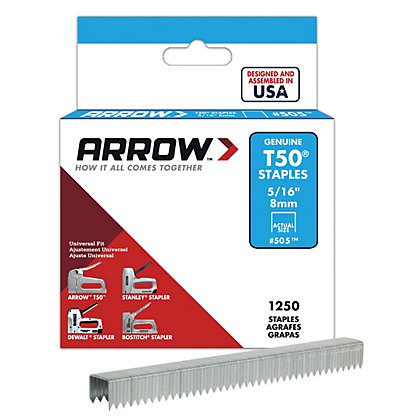 Image for Arrow T50 8mm Staples from StoreName