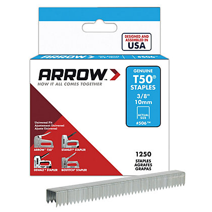 Image for Arrow T50 10mm Staples from StoreName