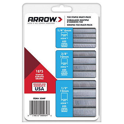 Image for Arrow T50 Staples Multipack from StoreName