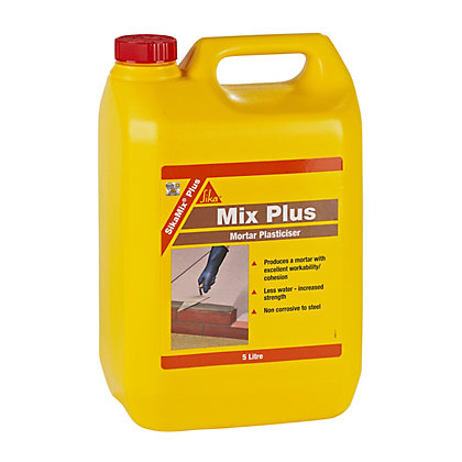 Image for Sikamix Plus Mortar Plasticiser - 5L from StoreName