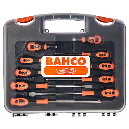 Image for Bahco 10 Piece Screwdriver Set from StoreName
