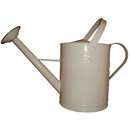 Image for Galvanised Watering Can - Cream - 8L from StoreName