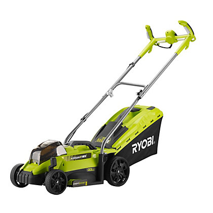 Image for Ryobi RLM18X33H50 18V 33cm Cordless Lawn Mower with 1 x 5.0Ah Battery from StoreName