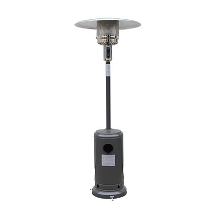 Image for Freestanding Gas Patio Heater - Charcoal Grey from StoreName