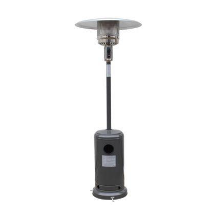 - Freestanding Gas Patio Heater - Charcoal Grey