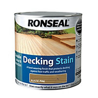Ronseal Decking Stain Rustic Pine - 2.5L