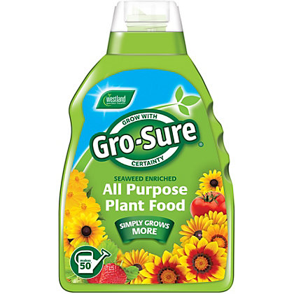 Image for Gro-Sure All Purpose Concentrate Plant Food - 1L from StoreName