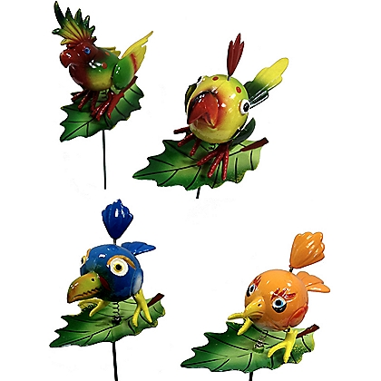 Image for Birds Decorative Garden Stakes - 4 Designs from StoreName
