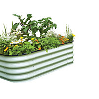 Birdies 6 in 1 Raised Garden Bed - Mist Green