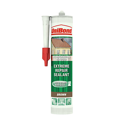 Image for UniBond Weather Protect Frame Sealant Cartridge - Brown from StoreName