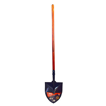 Image for Spear & Jackson Round Mouth Shovel with Long Handle from StoreName