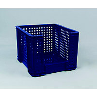 Really Useful 35L Open Fronted Crate - Blue