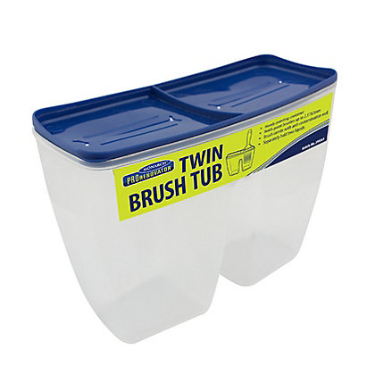 Image for Monarch Pro Renovator Twin Brush Tub with Lid from StoreName