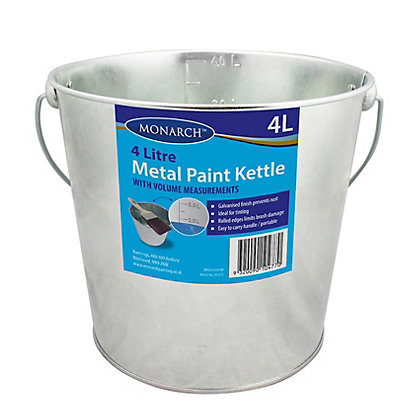 Image for Monarch Paint Pot Metal - 4L from StoreName
