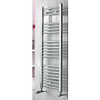 Torino Heated Towel Rail - Chrome - 900 x 420mm