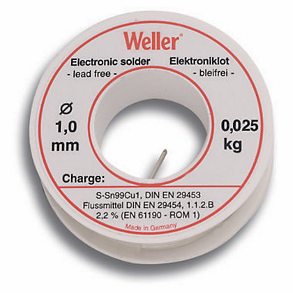 Image for Weller EL99/1-100 1mm Leadfree Solder - 100g from StoreName