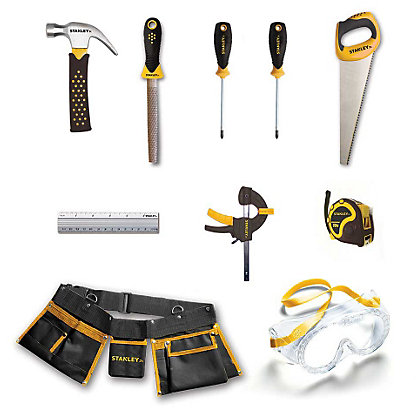 Image for Stanley Junior 10 Piece Tool Kit from StoreName