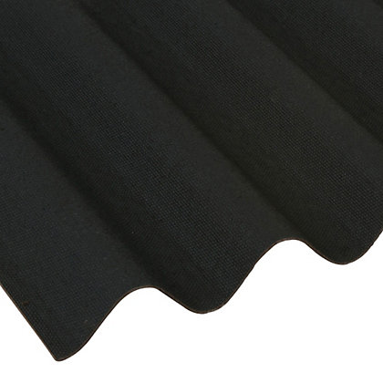 Image for Coroline Black Roof Sheet - 2m from StoreName