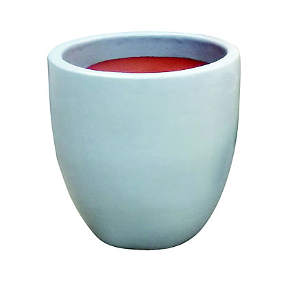 Image for Chiswick Egg Garden Planter in Grey - 27cm from StoreName