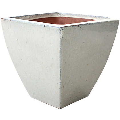Image for Classic Square Garden Planter in Cream - 31cm from StoreName