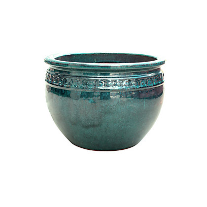 Image for Mynt Garden Planter in Forest Green - 20cm from StoreName