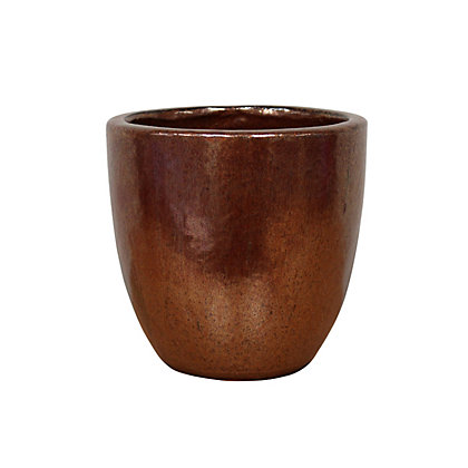 Image for Chiswick Egg Garden Planter in Copper - 42cm from StoreName