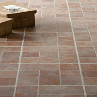Flagstone Textured Vinyl Tile