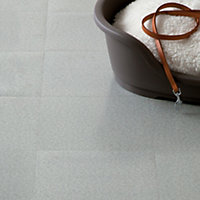 Vinyl Tile Grey Speckle- Home Delivery