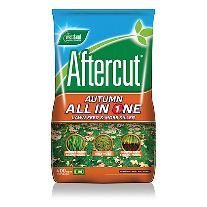 Image for Aftercut Autumn All In One Lawn Feed and Moss Killer - 400m2 from StoreName