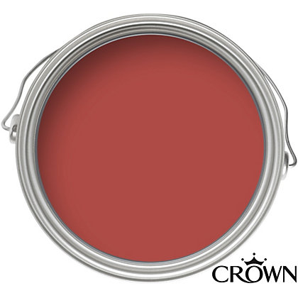 Image for Crown Breatheasy English Fire - Silk Emulsion Paint - 2.5L from StoreName