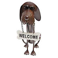 Welcome Dog Garden Ornament