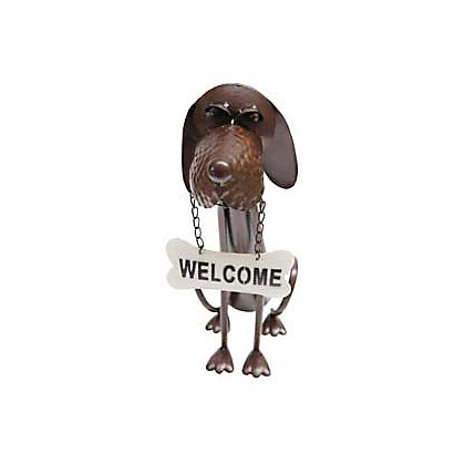 Image for Welcome Dog Garden Ornament from StoreName