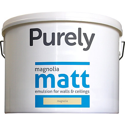 Image for Purely Matt Emulsion Magnolia - 5L from StoreName