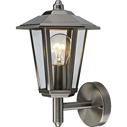 Image for 6 Sided Stainless Steel Lantern from StoreName