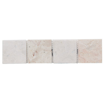 Image for Natural Stone Border Tiles - Christy Beige - 5 Pack from StoreName