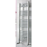 Torino Heated Towel Rail - 900 x 550mm - Chrome