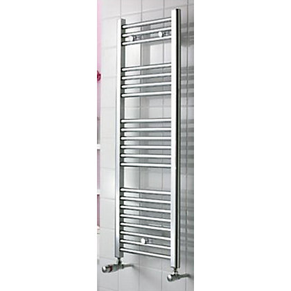 Image for Torino Heated Towel Rail - 900 x 550mm - Chrome from StoreName