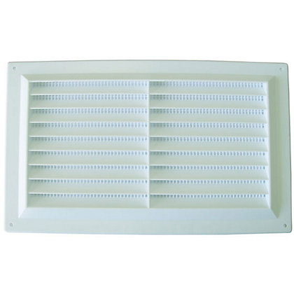 Image for Louvre Vent - 229 x 152mm - Plastic from StoreName